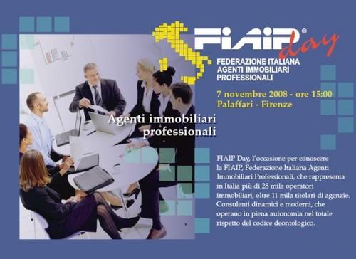 FIAIP Day   Venerdi' 7 Novembre ore 15.00 Palaffari – Firenze