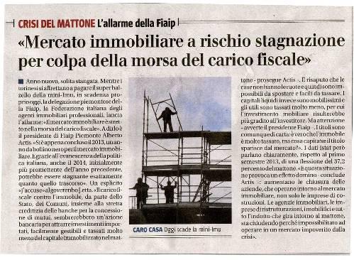 """""""CRISI DEL MATTONE"""" L'allarme della FIAIP"""