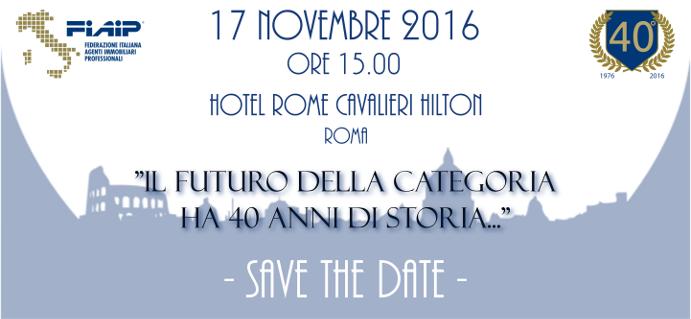 Fiaip festeggia 40 anni di storia – Roma, 17 Novembre 2016