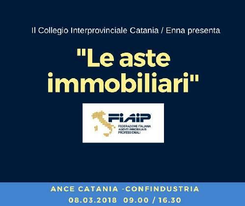 "Catania/Enna, Workshop "" Le aste immobiliari"""