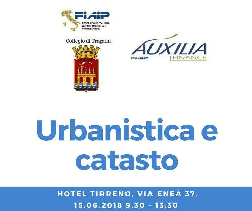 "Collegio di Trapani, Workshop "" Urbanistica e catasto"""