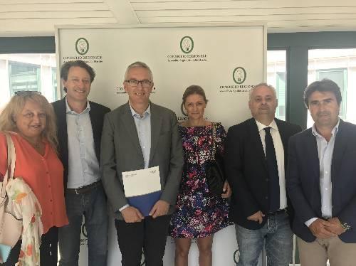 Fiaip incontra il Presidente della Regione Marche Luca Ceriscioli