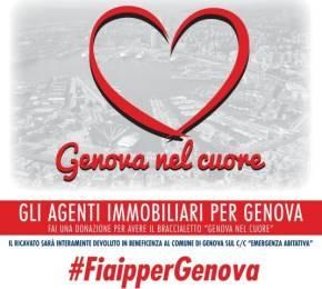 Fiaip lancia la campagna di raccolta fondi per Genova