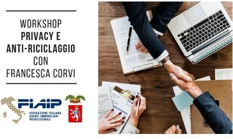 """Formazione: A Siena Mercoledi' 7 novembre il workshop  """"Privacy e Antiriciclaggio"""" con l'avvocato Francesca Corvi"""