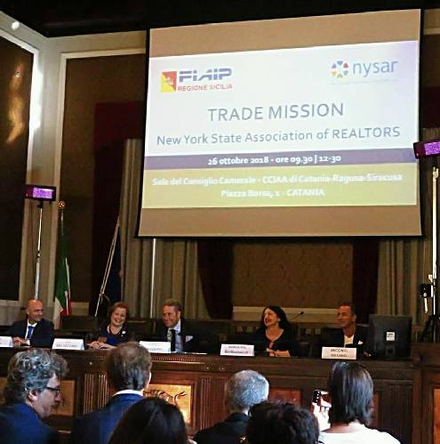 Trade Mission agenti immobiliari Usa a Catania e Taormina