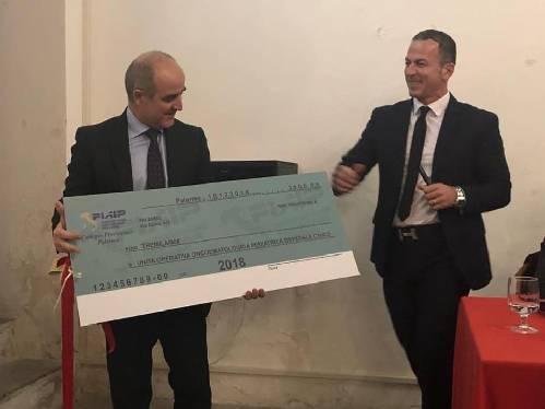 Fiaip: a Palermo chiude il 2018 una donazione all'Unita' Oncoematologica Pediatrica dell'Ospedale Civico.