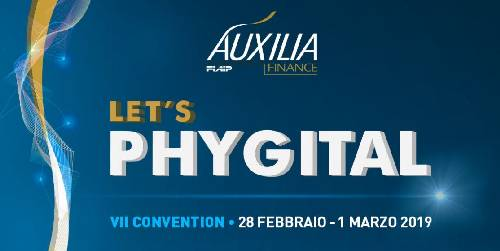"A Roma VII^ Convention di Auxilia Finance: ""Lets' Phygital"""
