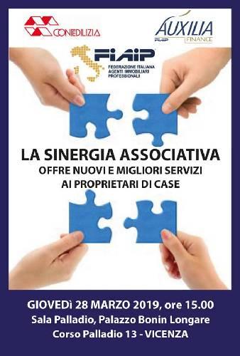 Immobiliare: A Vicenza Convegno e sinergie tra Fiaip, Auxilia Finance e Confedilizia