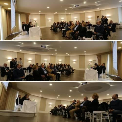 Pergusa Enna. Il segretario nazionale Fabrizio Segalerba interviene al Consiglio Regionale Fiaip Sicilia.
