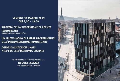 A Torino Convegno Fiaip sulla riforma della professione
