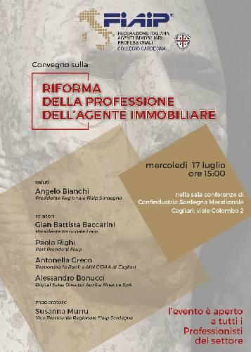 Fiaip: In Sardegna Convegno sulla Riforma della Professione di Agente Immobiliare