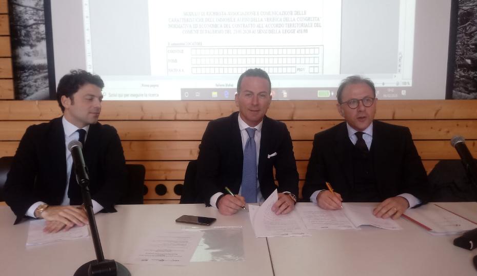 A Palermo nuovo accordo territoriale tra Fiaip e Ape Confedilizia