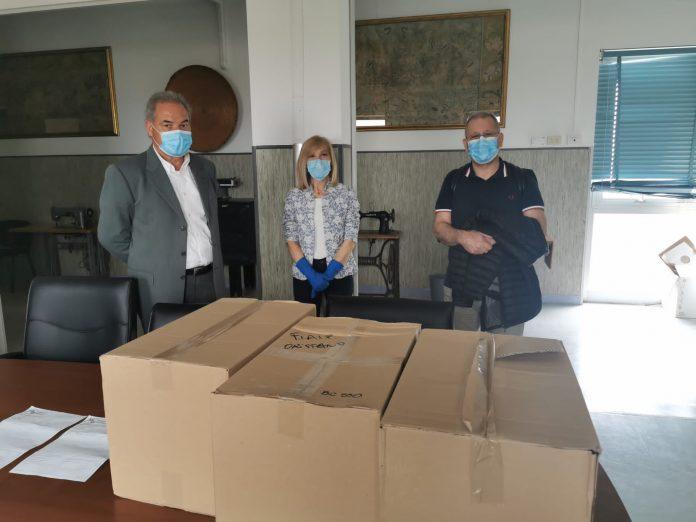 Fiaip dona all'Unità operativa dell'Ospedale San Martino di Oristano dispositivi di protezione per medici e infermieri