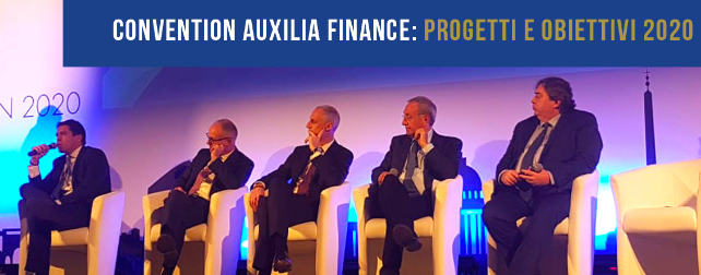 Convention Auxilia Finance Progetti e Obiettivi 2020