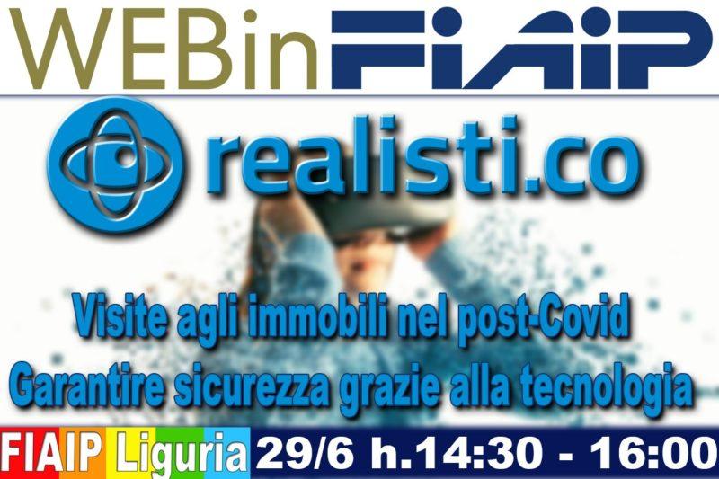 Formazione: Webinar Fiaip Liguria con Realisti.co