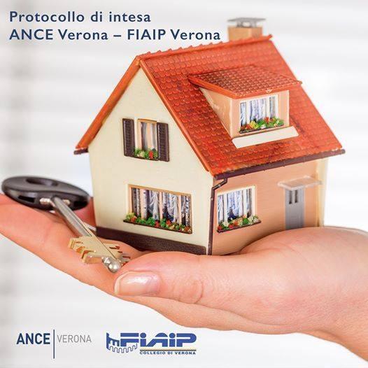 Immobiliare: Siglato a Verona protocollo d'intesa tra Fiaip ed Ance