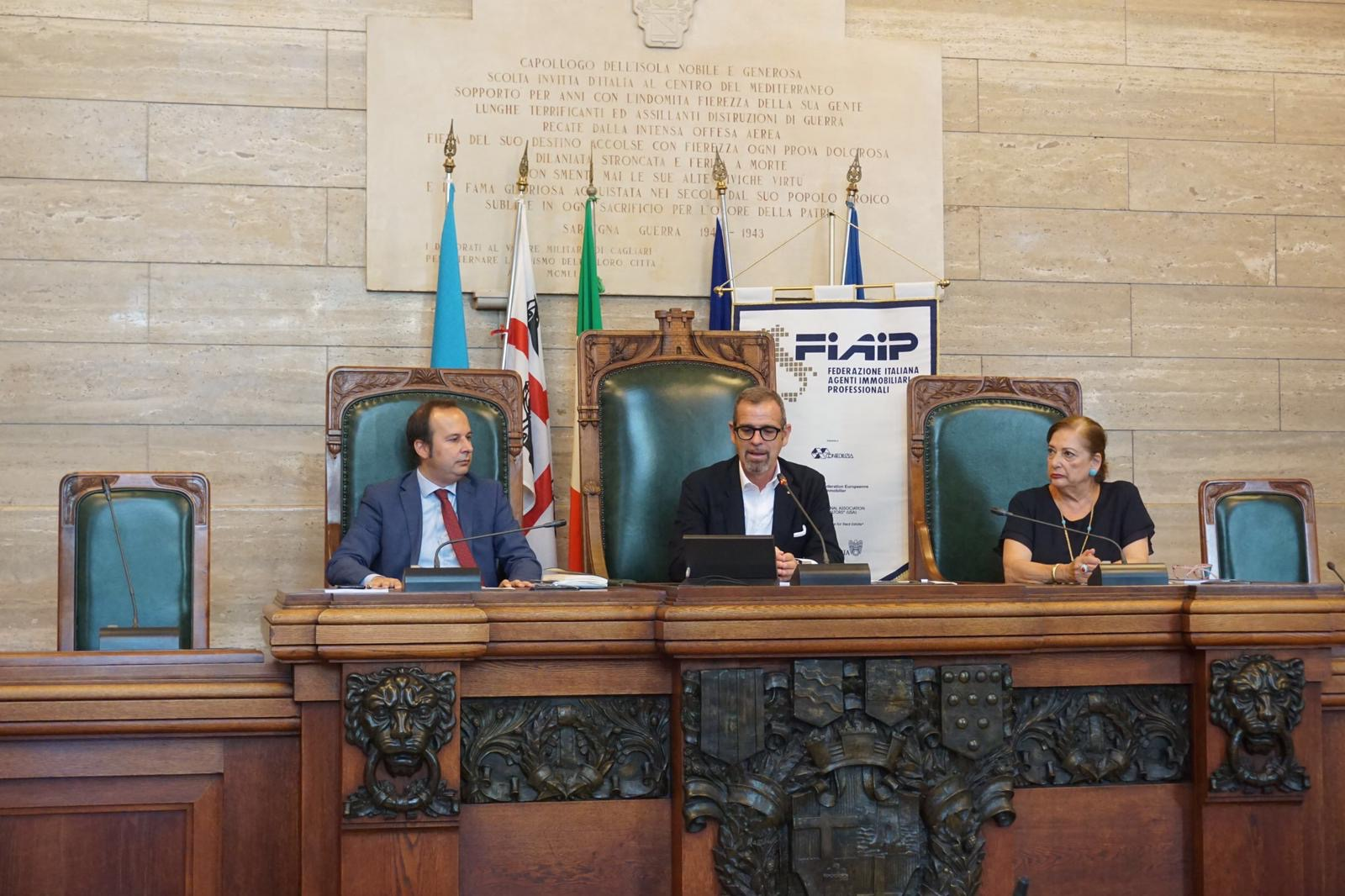 Fiaip: A Cagliari presentato l'Osservatorio immobiliare della Provincia 'storica' di Cagliari