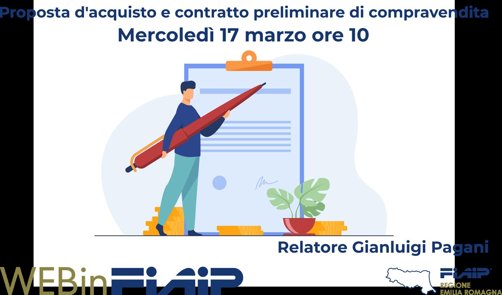 WebinFIAIP Emilia Romagna – Proposta d'acquisto & Preliminare di compravendita
