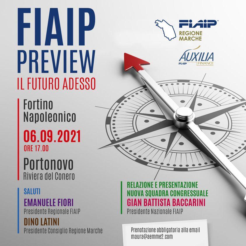 Nelle Marche FIAIP PREVIEW – IL FUTURO ADESSO